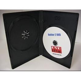Boitier DVD double couleur noir