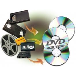 Transfert vidéo et audio