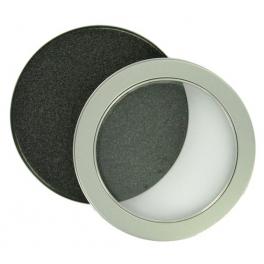 Boitier CD métal avec fenetre
