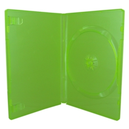 Boitier jeux videos vert XBOX