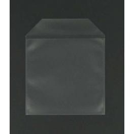 Pochette plastique pour 1 CD avec rabat