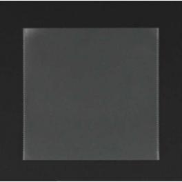Pochette plastique pour 1 CD, sans rabat
