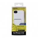 Etui de protection  pour iPhone 4S - blanc