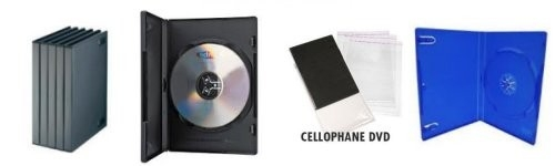 Boitiers DVD