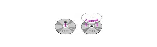 Pour CD / DVD