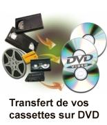 Transfert de vos cassettes sur DVD